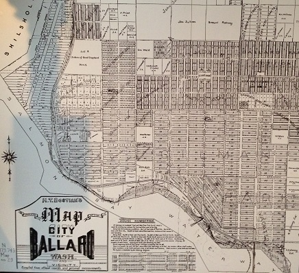 Ballard historic mapping
